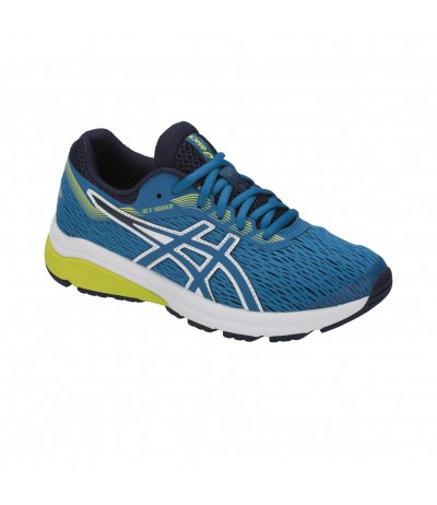 ASICS GT 1000 7 GS 402 race blue/neon lime