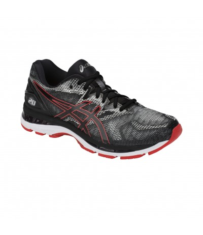 ASICS GEL NIMBUS 20 MAN 002 black/red allert