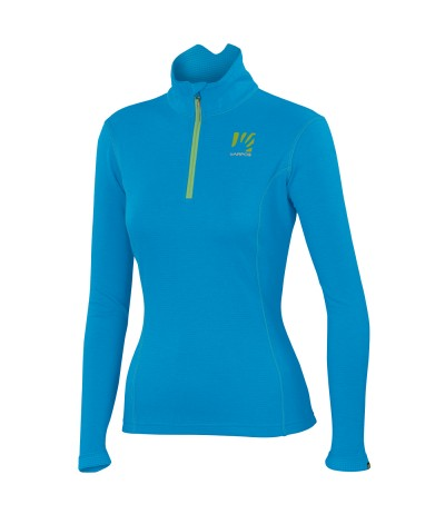 KARPOS PIZZOCCO HALF ZIP WOMAN 403 dresden blue