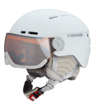 HEAD CASCO QUEEN white