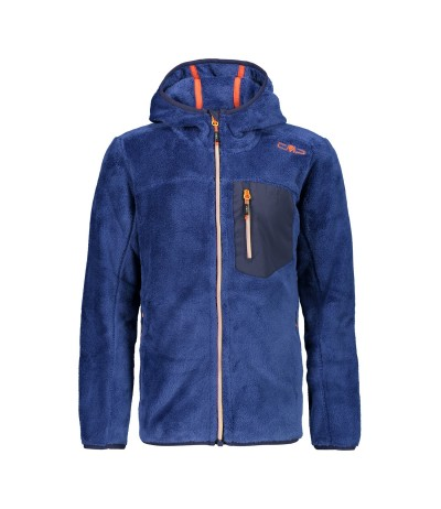 CMP BOY JACKET FIX HOOD M934 marine