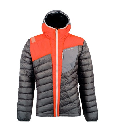 LA SPORTIVA CONQUEST DOWN JACKET MAN slate/pumpkin