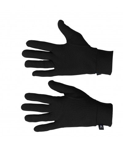 ODLO WARM GLOVES black