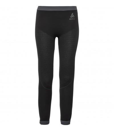 ODLO PERFORMANCE WARM KIDS SUW BOTTOM PANT blk/graphite grey