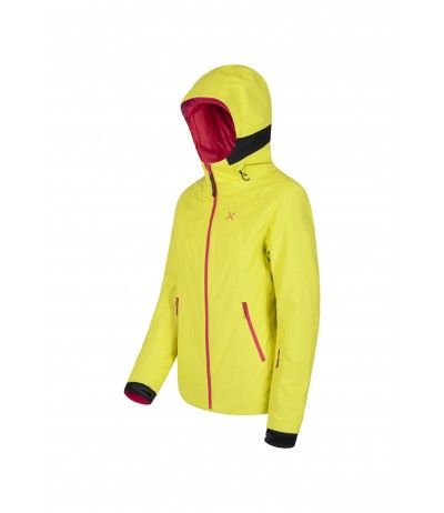 MONTURA SKI EVOLUTION JACKET W 7404 giallo zofol/rosa sugar