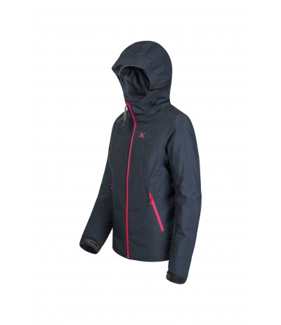 MONTURA SKI EVOLUTION JACKET W 8104 blu notte/rosa sugar