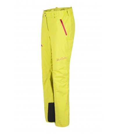 MONTURA SKI EVOLUTION PANTS W 7404 giallo zolfo/rosa sugar