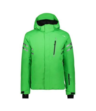 CMP MAN JACKET ZIP HOOD E640 green