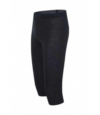 MONTURA MERINO LIGHT 3/4 PANTS 90 nero