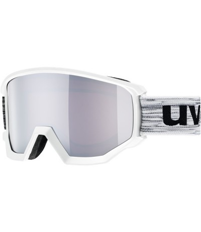 UVEX MASCHERA ATHLETIC FM race white/S2