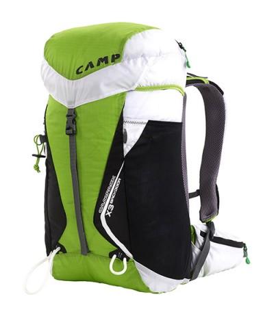 CAMP ZAINO X3 BACKDOOR 30 L verde/bianco